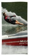 Water Skiing Magic Of Water 26 Beach Towel