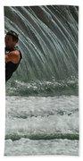 Water Skiing Magic Of Water 3 Beach Towel