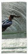 Water Skiing Magic Of Water 32 Beach Towel