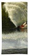 Water Skiing Magic Of Water 33 Beach Towel
