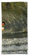 Water Skiing Magic Of Water 8 Beach Towel