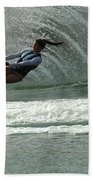 Water Skiing Magic Of Water 9 Beach Towel