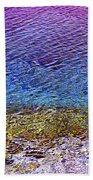 Water Surface  Beach Towel