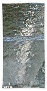 Water Wall Beach Towel