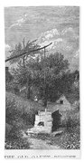 Water Well, C1880 Beach Towel