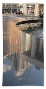 Lincoln Center Reflections Beach Towel