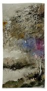 Watercolor 110122 Beach Towel