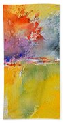 Watercolor 2125632 Beach Towel