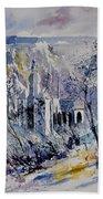 Watercolor Dinant 110172 Beach Towel
