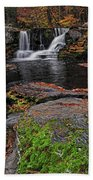 Waterfall Childs State Park Beach Towel