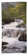 Waterfall In The Highlands Beach Towel