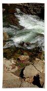Waters Edge Glen Alpine Creek Beach Towel