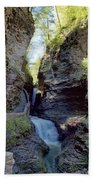 Watkins Glen Spring One Beach Towel