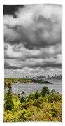 Watson Bay Sydney Harbor Beach Towel