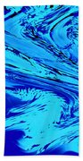 Waves Of Abstraction Beach Towel