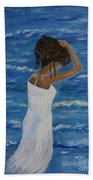 Waves Of Beauty Beach Towel