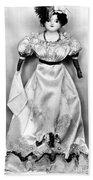 Wax Doll, C1820 Beach Towel