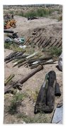 Weapons Caches Beach Towel