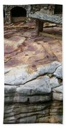 Weathered Stone Beach Towel