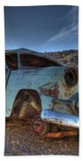 Welcome To Death Valley Beach Towel by Bob Christopher