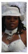 West Indian Parade Brooklyn Ny Beach Towel