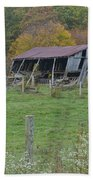 West Virginia Barn 3211 Beach Towel