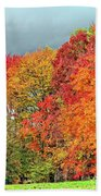 West Virginia Maples 2 Beach Towel