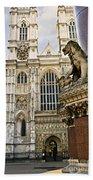 Westminster Abbey Beach Towel