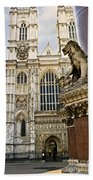 Westminster Abbey Beach Towel
