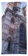 Westminster Abbey London Beach Towel