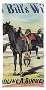 W.f. Cody Poster, C1885 Beach Towel