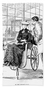 Wheelchair, 1886 Beach Towel