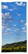 When Clouds Meet Mountains 2 Beach Towel