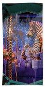 Tiffany's Carousel Beach Towel