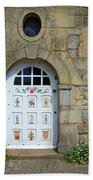 White Door Provence France Beach Towel