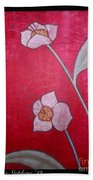 White Lotus Top Beach Towel