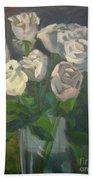 White Roses Beach Sheet