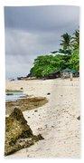 White Sand Beach Moal Boel Philippines Beach Towel