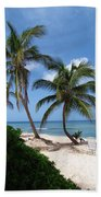 White Sand Beach Beach Towel