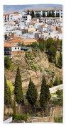 White Town Of Ronda Beach Sheet