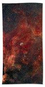 Widefield View Of He Crescent Nebula Beach Towel