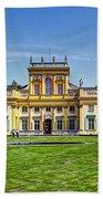 Wilanow Palace - Warsaw Poland Beach Towel