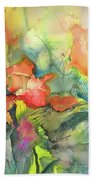 Wild Flowers 05 Beach Towel