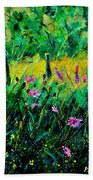 Wild Flowers 451190 Beach Towel