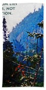 Wilderness Freedom Beach Towel