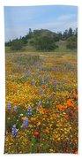 Wildflower Wonderland 8 Beach Towel