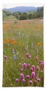 Wildflower Wonderland 6 Beach Towel