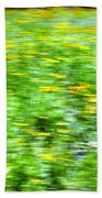 Wildflowers And Wind 2 Beach Towel by Skip Nall