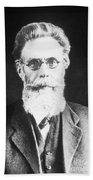 Wilhelm Roentgen, German Physicist Beach Towel
