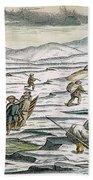 Willem Barents (c1550-1597) Beach Towel